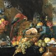 Table richement dressée avec un perroquet, Jan Davidsz de Heem