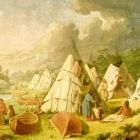 Indian Encampment on Lake Huron (Paul Kane)
