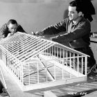 Students Constructing a Model Wooden Frame