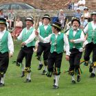 English traditional Dancers