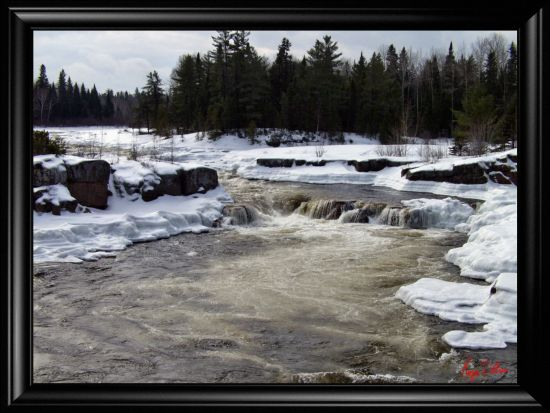 Papineau Fall in the Winter