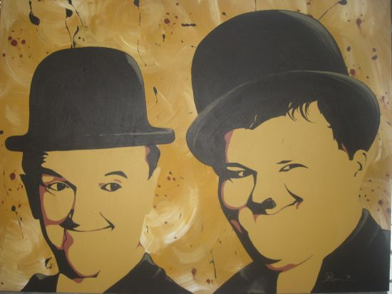 Pop Art / Laurel & Hardy