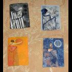 acartes d'artistes (artists trading cards)